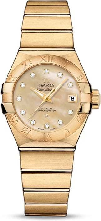 Constellation Omega Co-Axial 27mm 123.50.27.20.57.002