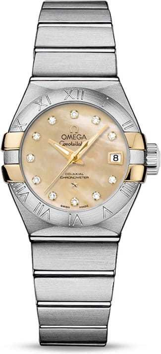 Constellation Omega Co-Axial 27mm 123.20.27.20.57.003
