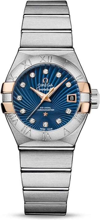 Constellation Omega Co-Axial 27mm 123.20.27.20.53.002