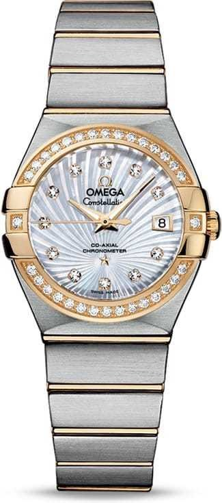 Constellation Omega Co-Axial 27mm 123.25.27.20.55.002