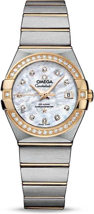 Constellation Omega Co-Axial 27mm 123.25.27.20.55.003