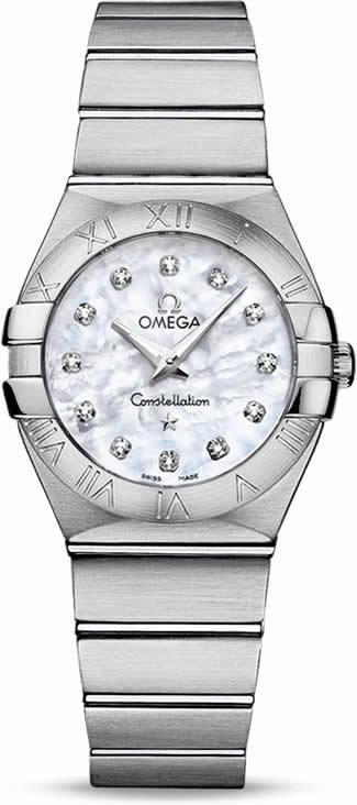 Omega Constellation Quartz 27mm 123.10.27.60.55.001