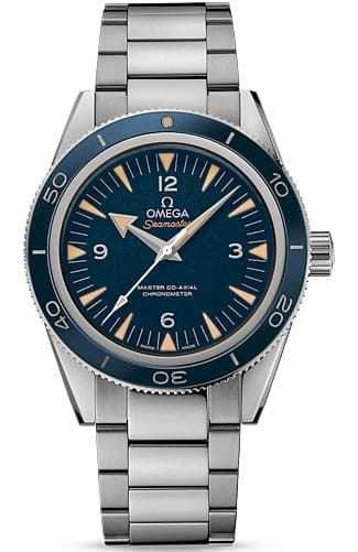 Omega Seamaster 300 Master Co-axial 41mm Blue Dial