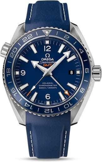Planet Ocean 600M Omega Co-axial GMT 43.5mm 232.92.44.22.03.001