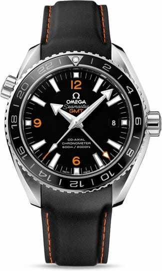 Planet Ocean 600M Omega Co-axial GMT 43.5mm 232.32.44.22.01.002