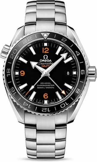 Planet Ocean 600M Omega Co-axial GMT 43.5mm 232.30.44.22.01.002