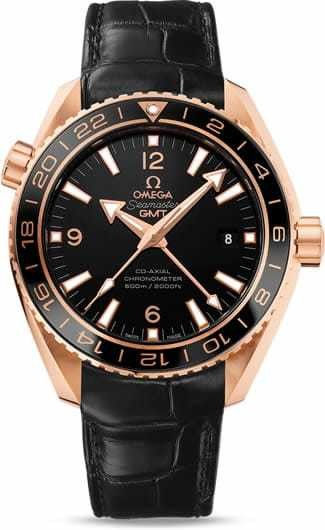 Planet Ocean 600M Omega Co-axial GMT 43.5mm 232.63.44.22.01.001
