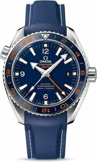 Planet Ocean 600M Omega Co-axial GMT 43.5mm 232.32.44.22.03.001