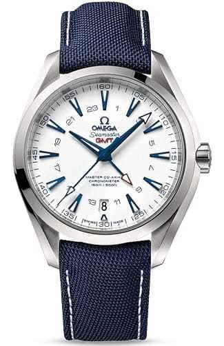 Aqua Terra 150 M Omega Master Co-axial GMT 43mm 231.92.43.22.04.001