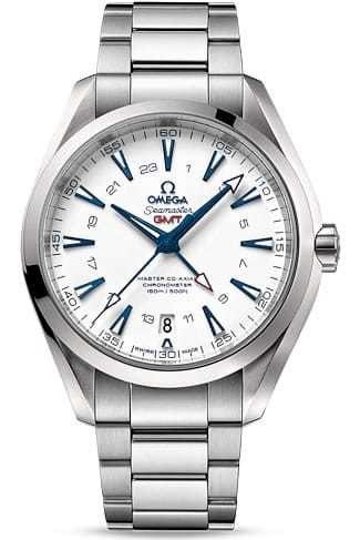 Aqua Terra 150 M Omega Master Co-axial GMT 43mm 231.90.43.22.04.001