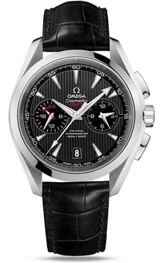 Aqua Terra 150M Omega Co-axial GMT Chronograph 43mm 231.13.43.52.06.001