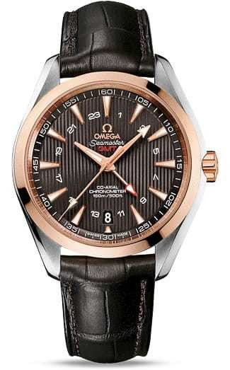 Aqua Terra 150M Omega Co-axial GMT 43mm 231.23.43.22.06.001