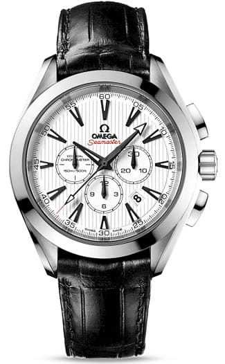 Aqua Terra 150M Co-axial Chronograph 44mm 231.13.44.50.04.001
