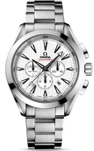 Aqua Terra 150M Co-axial Chronograph 44mm 231.10.44.50.04.001