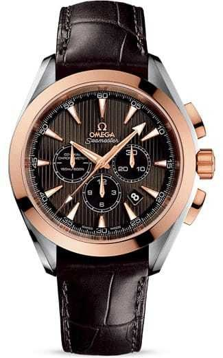 Aqua Terra 150M Co-axial Chronograph 44mm 231.23.44.50.06.001