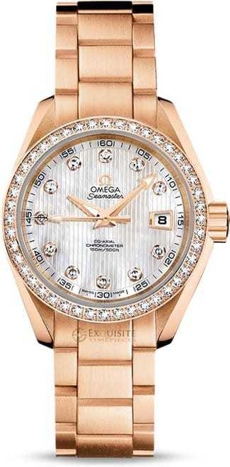 Aqua Terra 150M Omega Co-axial 30mm 231.55.30.20.55.001