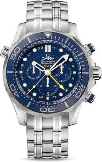 Diver 300M Co-Axial GMT Chronograph 44mm 212.30.44.52.03.001