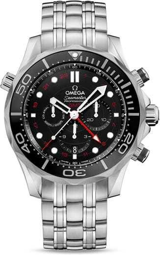 Diver 300M Co-Axial GMT Chronograph 44mm 212.30.44.52.01.001