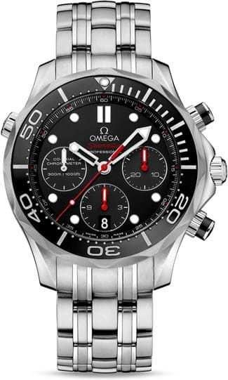 Omega Seamaster Diver 300M Co-Axial Chronograph 44mm 212.30.44.50.01.001