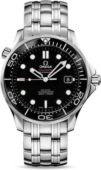 Omega Seamaster Diver 300M Co-Axial 41mm Black Dial 212.30.41.20.01.003