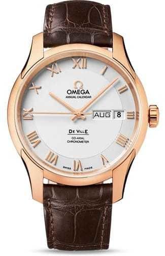De Ville Omega Co-Axial Annual Calendar 41mm