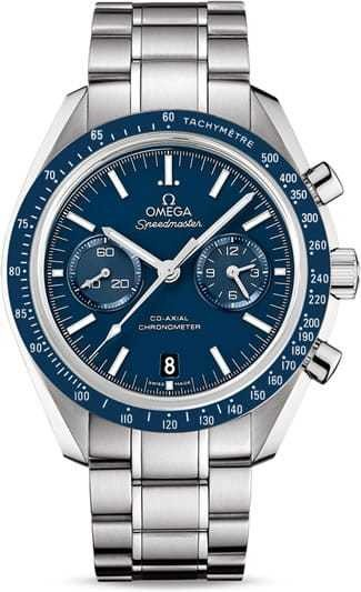 Omega Speedmaster Moonwatch Professional Co-Axial Chronograph 44.25mm Blue Dial 311.90.44.51.03.001