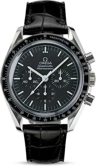 Omega Speedmaster Moonwatch Professional 42mm Hesalite Crystal on Strap 311.33.42.30.01.001