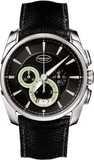 Parmigiani Tonda Metrographe Steel Black Super-Luminova PFC274-0001401-HE1442