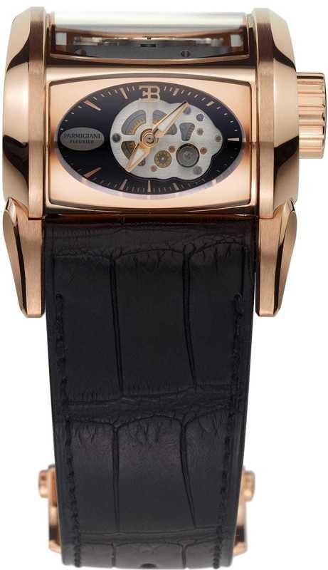 Parmigiani Fleurier Bugatti Super Sport Rose Gold Black PFH365-1001400-HA1442