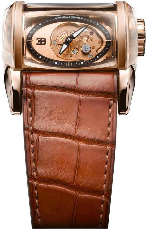 Parmigiani Fleurier Bugatti Super Sport Rose Gold Saphire Rose Gold Saphir PFH365-1002700-HA4042