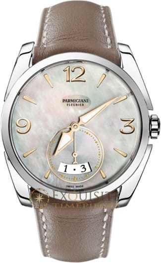 Parmigiani Fleurier Tonda Metropolitaine Steel White Mop PFC273-0003300-HC6121