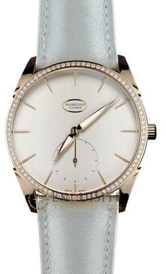 Parmigiani Fleurier Tonda 1950 Rose Gold Set Grained White PFC267-1062400