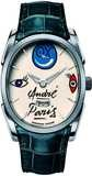 Parmigiani Fleurier Ovale Hebdomadaire Steel White 'ANDRE' PFC701-0002400-HA2841