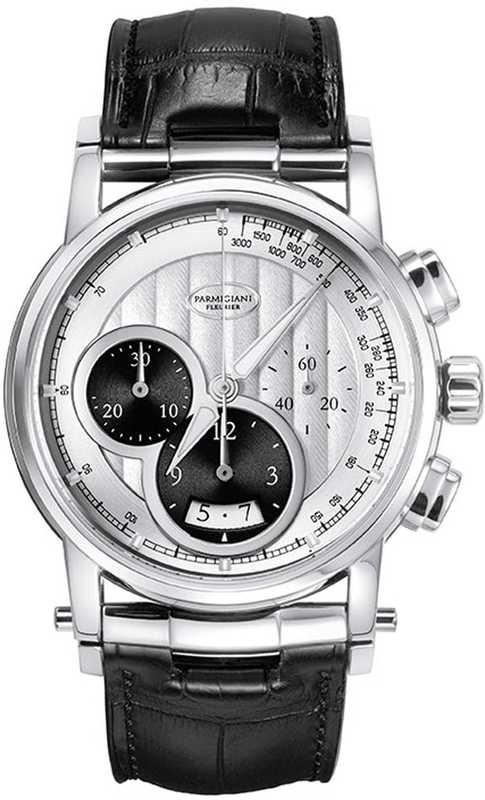 Parmigiani Fleurier Transforma Chrono Steel Silver PFC228-0000100-XA1432-000000E