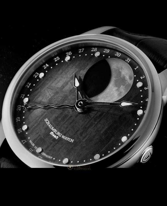 Schaumburg Watch Moon Grand Perpetual Meteorite