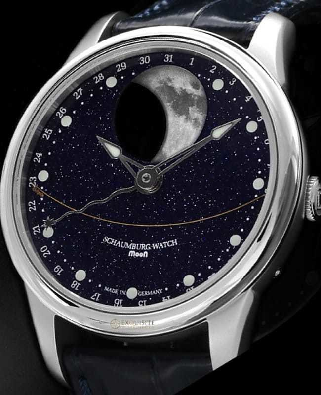 Schaumburg Watch Moon Perpetual Galaxy