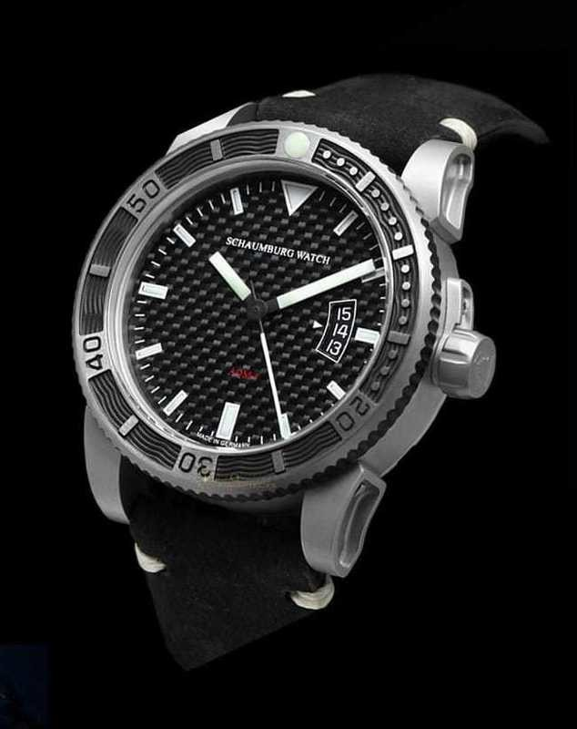 Schaumburg Watch AQM Carbon