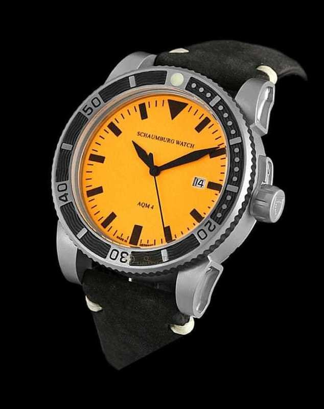 Schaumburg Watch AQM 4 Orange