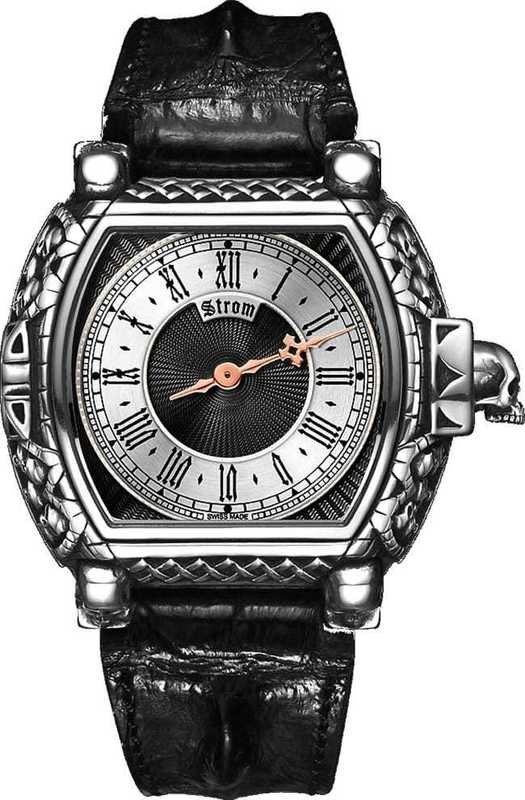 Strom Agonium Special Dial 'Guilloche' One Hand