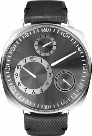 Ressence Type 1-2 R Squared Ruthenium Silver