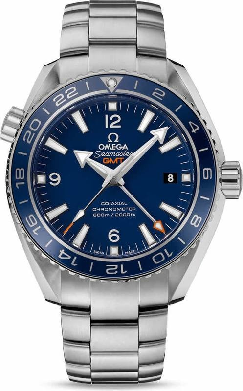PLANET OCEAN 600M OMEGA CO-AXIAL GMT 43.5MM 232.90.44.22.03.001