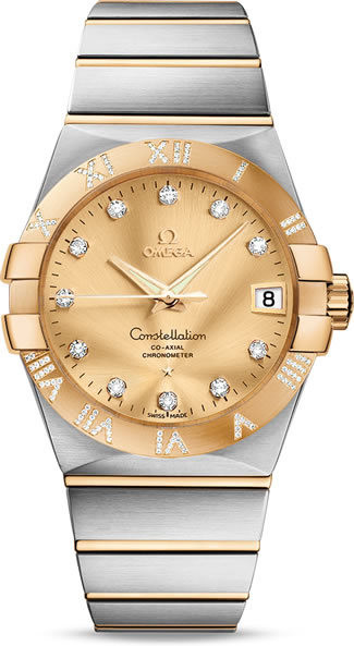 Constellation Omega Co-Axial 38mm 123.25.38.21.58.002
