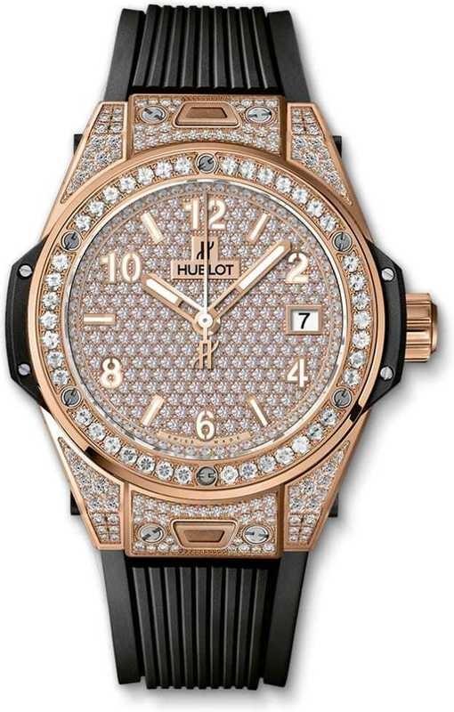 Hublot Big Bang One Click King Gold Full Pavé 465.OX.9010.RX.1604