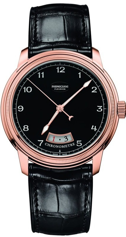 Parmigiani Fleurier Toric Chronometre Rose Gold Black