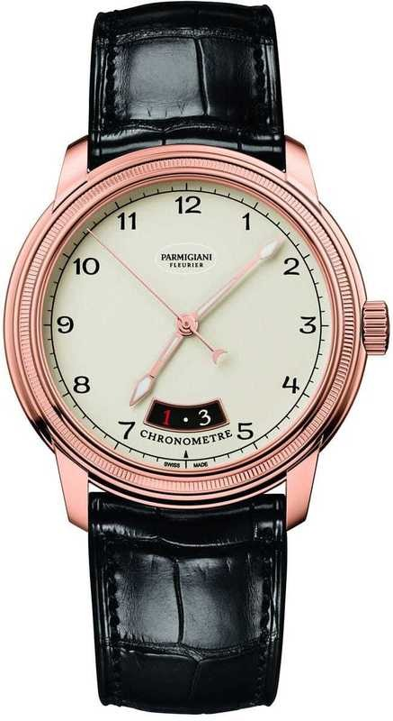 Parmigiani Fleurier Toric Chronometre Rose Gold White Dial
