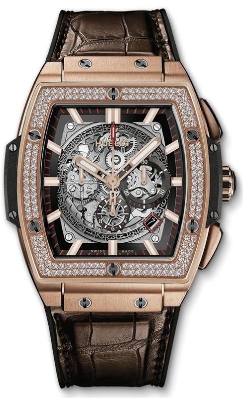 Hublot Spirit of Big Bang King Gold Diamonds 45mm 601.OX.0183.LR.1104