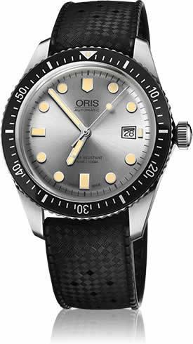 Oris Divers Sixty-Five Grey Dial