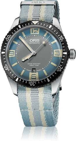Oris Divers Sixty Five Light Blue