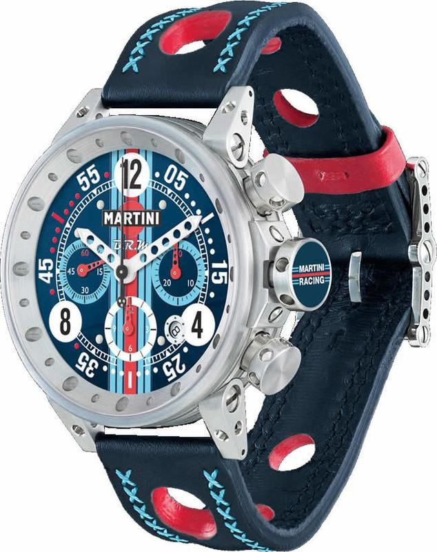 BRM Martini Racing Navy Dial Limited Edition