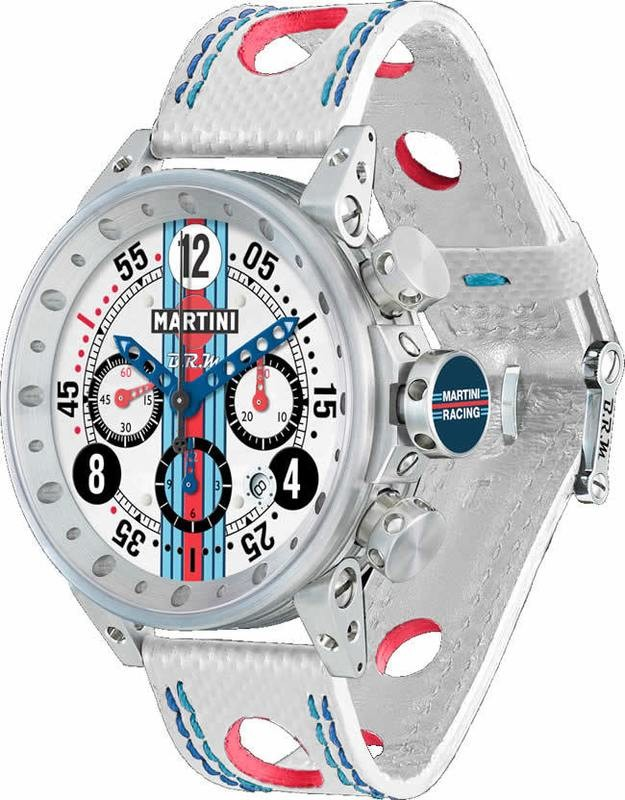 BRM Martini Racing White Dial Limited Edition